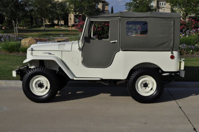 1960 Toyota Land Cruiser FJ25 Frame Off Pro-Restoration (not
