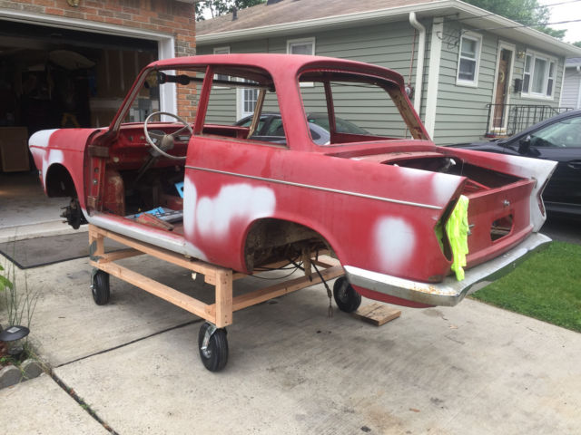 1961 BMW 700 PROJECT SERIES 1 RENNSPORT 61 63 AIRHEAD