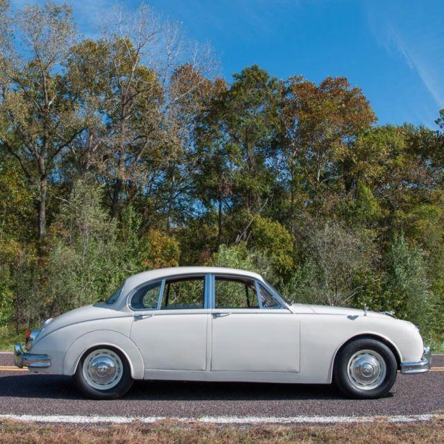 1961 Jaguar Mark 2 3.8L Saloon, Rare four-speed, Restored ...