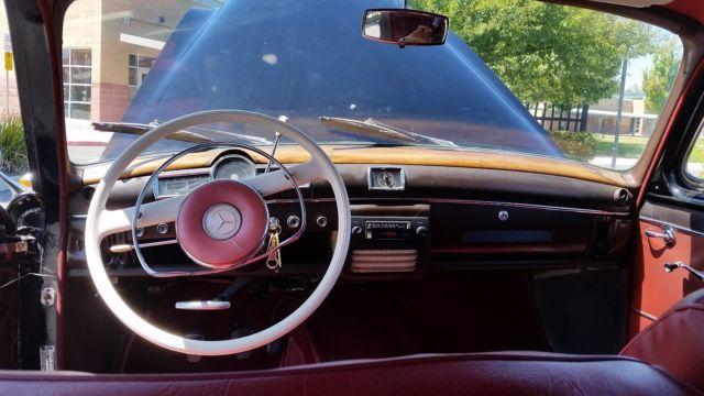 1961 mercedes benz type W121 190B (Ponton) - Classic 1961