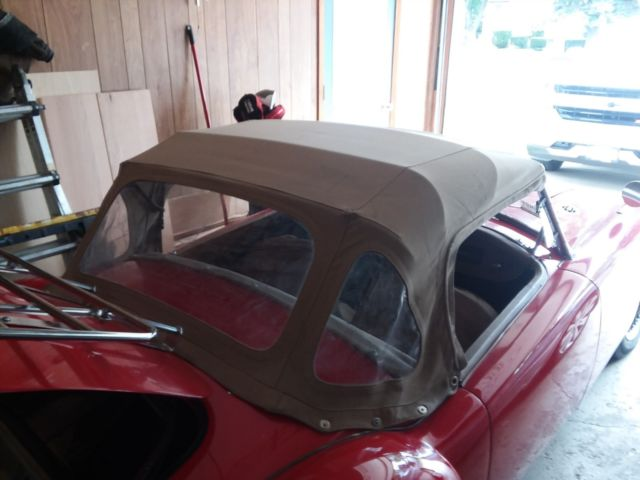 1961 MGA 1600 Roadster that has had a frame off restoration