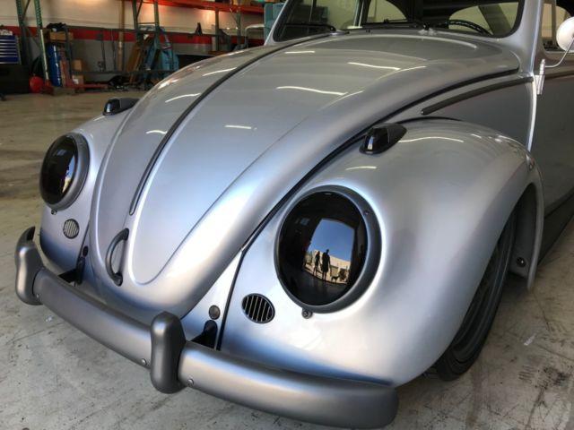 1961 volkswagen bettle bug air suspension custom show car classic