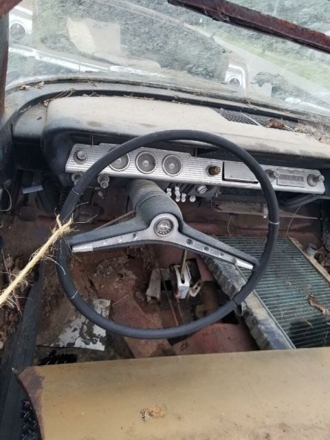 1962 Chevrolet Impala Ss Convertible Barn Find Project