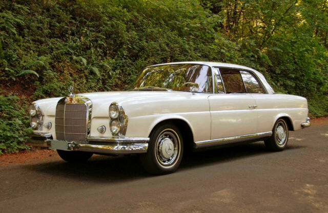 1962 Mercedes-benz 220 Se Coupe  Survivor Class