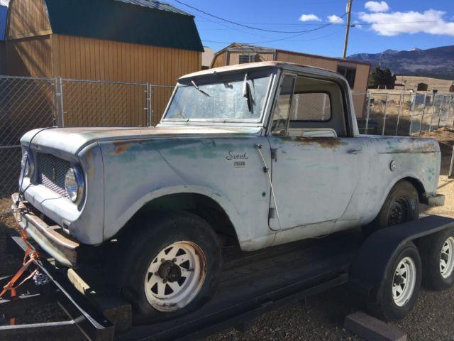 1962 Scout 80 International Harvester parts or restoration