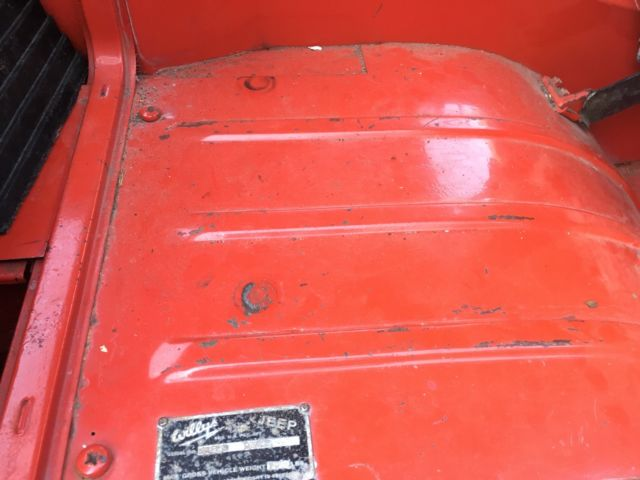 1962 Willys Jeep Fc 170 4x4 9 Stepside Survivor 13 000 Original