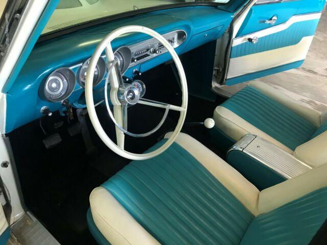 1963 Ford Fairlane 500 Ranch Wagon 289 4 speed Manual No