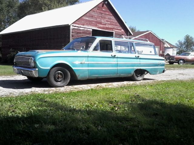 1963 ford falcon deluxe station wagon - Classic 1963 Ford