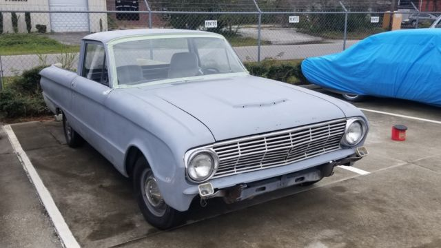 1963 Ford Ranchero, Falcon, Fairlane, Mustang, Project ...