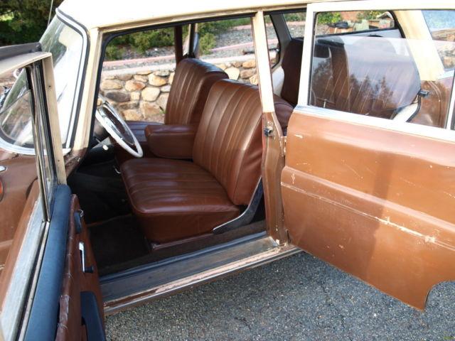 1963 Mercedes Benz 190dc Binz Coachbuilt Fintail Station Wagon