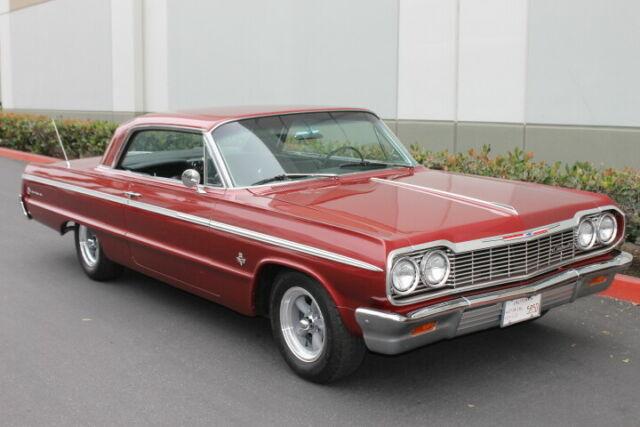 1964 Chevrolet Impala Ss 409 4 Speed Classic 1964