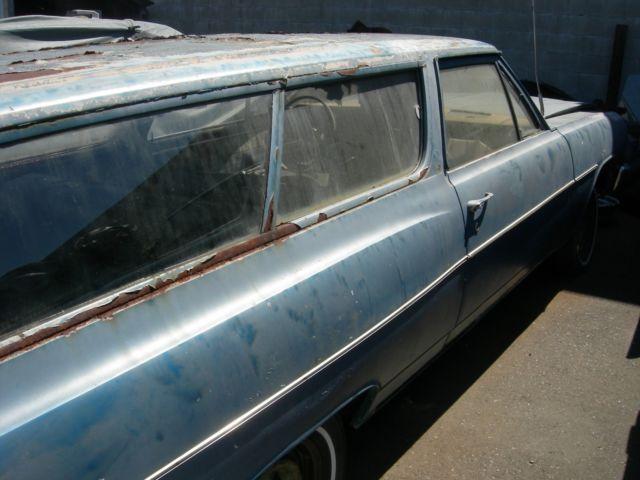 1965 CHEVROLET CHEVELLE 2 DOOR WAGON - Classic 1965 Chevrolet