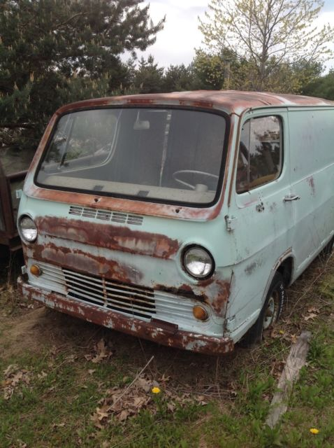 1965 GMC Handi Van