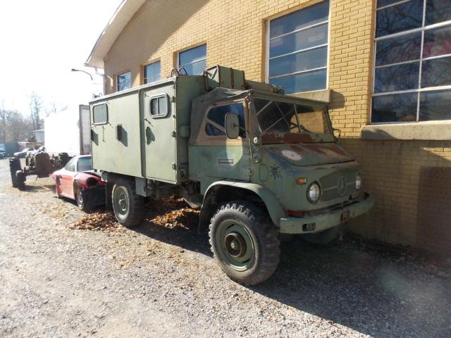 1965 Mercedes-Benz Unimog (Type 404) Radio Truck, runs and ...