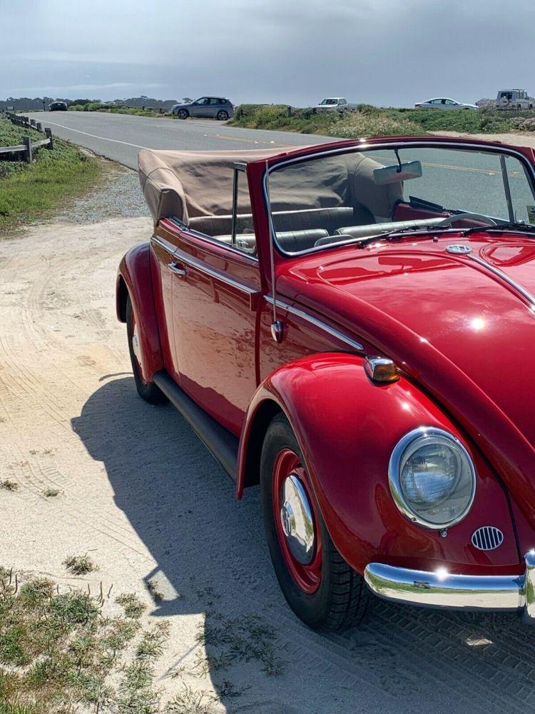 1965 Vw Beetle Convertible Classic 1965 Volkswagen