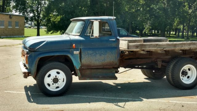 1966 Chevy C60 Flat Bed Dump Classic 1966 Chevrolet C60 For Sale