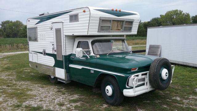 1966 Chevy Custom Camper 40 800 Mile 64 65 67 68 69 Camaro Chevelle