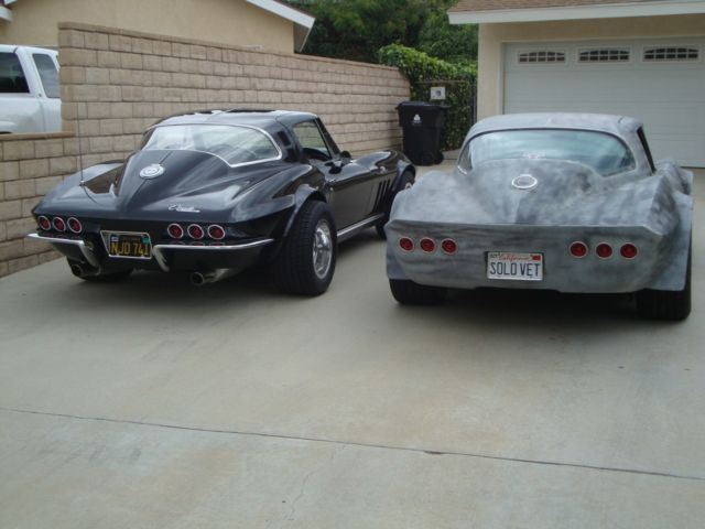 1966 Corvette Coupe Custom Barn Find Hot Rat Rod Gasser Old School