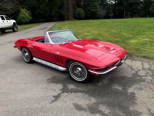 1966 Corvette Matching 427 4 Speed Classic 1966
