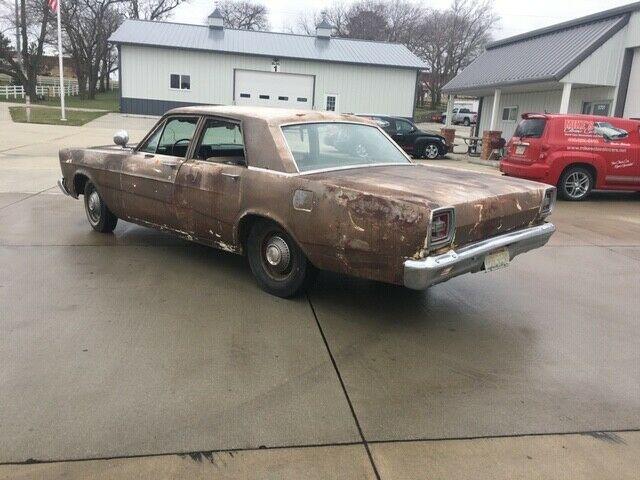1966 FORD CUSTOM (GALAXIE) 428 4 SPEED 4 DOOR BUCKET SEAT