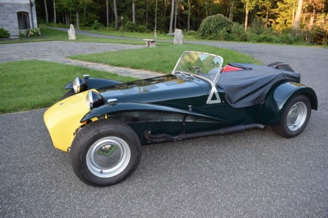 1966 Lotus Super Seven S2 RHD Rebuilt Motor New Paint