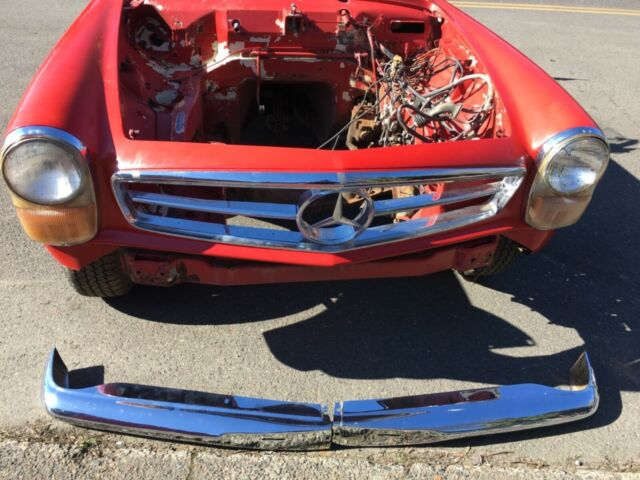 1966 Mercedes Benz 230SL 4 Speed W113 restoration project or parts