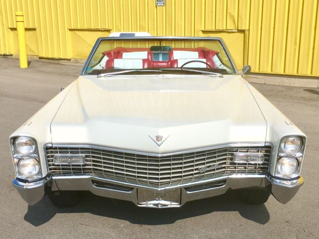 1967 Cadillac Coupe DeVille Convertible AMAZING CONDITION ...