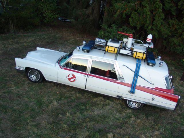 1967 Cadillac Superior Hearse Ecto-1 Ghostbusters Crown
