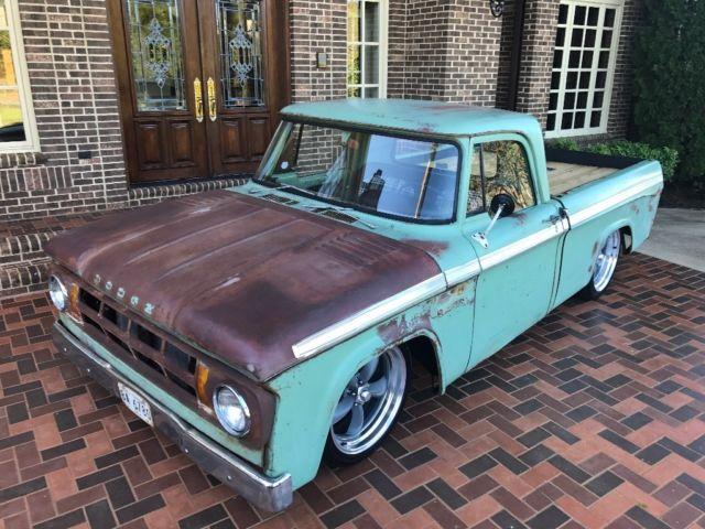 1967 Dodge D100 Pickup Truck Hot Rod Patina Classic 1967