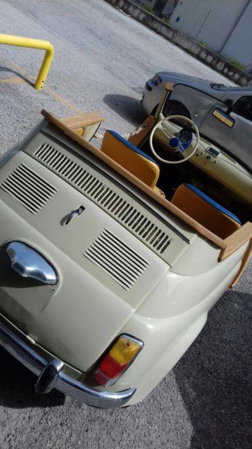 1967 Fiat 500 Jolly Ghia Spiaggina Replica Classic 1967 Fiat 500