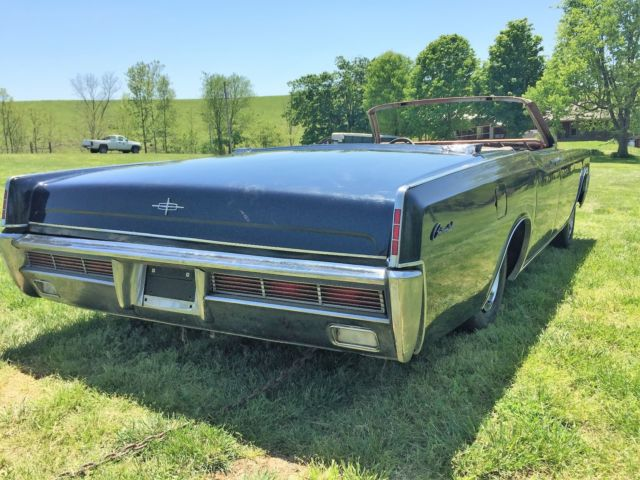 1967 Lincoln Continental Convertible Barn Find Ford Rat Rod Cruiser