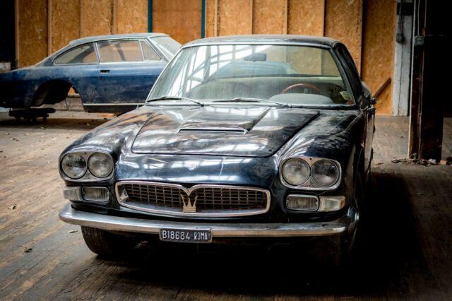 1967 Maserati Quattroporte I Barn Find Tipo 107 ZF 5-Speed