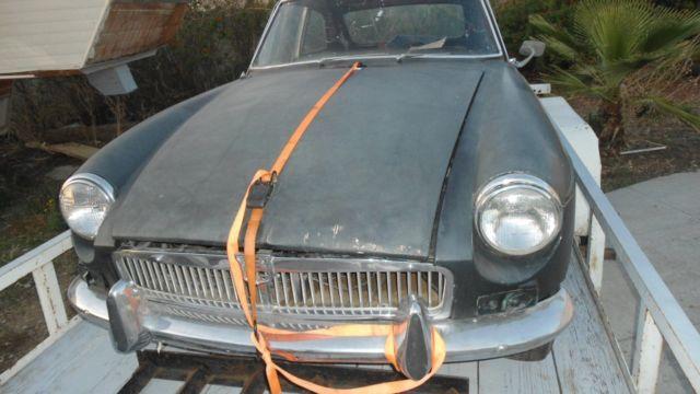 1967 MGB GT - PROJECT CAR- SO CA   - Classic 1967 MG MGB