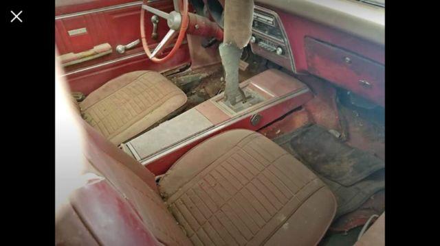 1967 Pontiac Firebird Convertible not camaro 1968 1969 rat