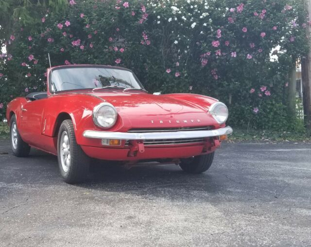 1967 Triumph Spitfire Mkiii And 1969 Spitfire Parts Car Classic