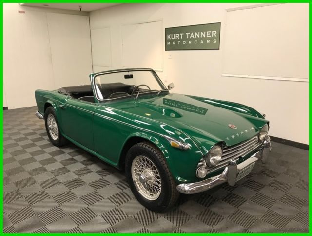 1967 TRIUMPH TR4A IRS CONVERTIBLE  EXCELLENT DRIVING CAR