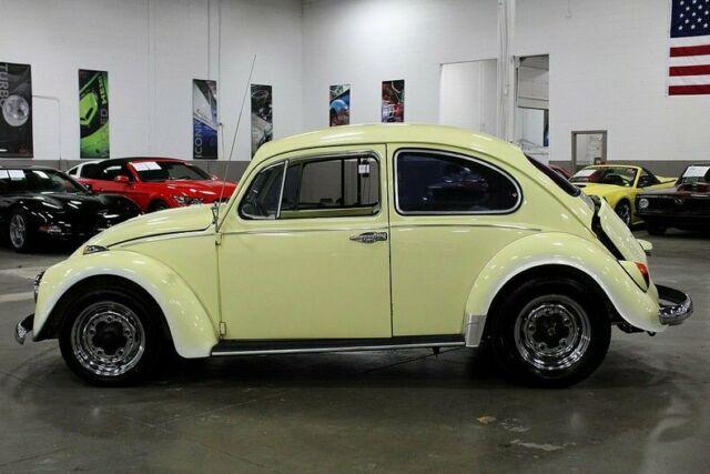 1967 Volkswagen Beetle 36341 Miles Yellow 1776 4cyl 4-Speed
