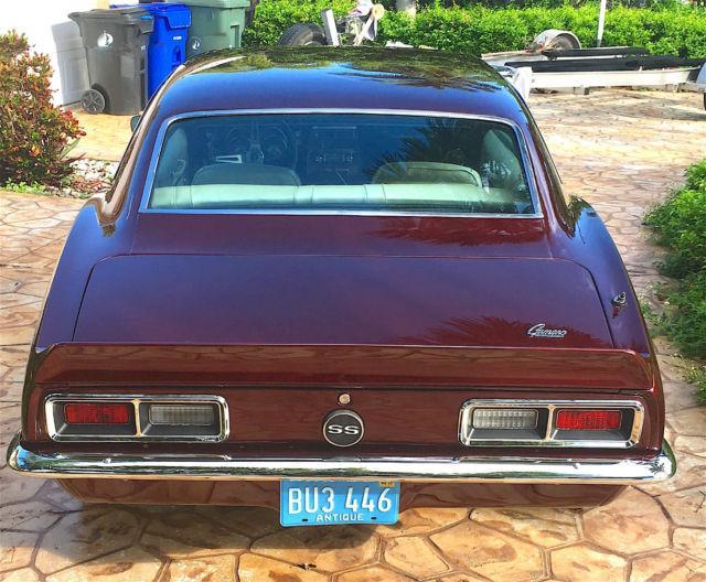 1968 Camaro Numbers Matching Complete Restoration True SS
