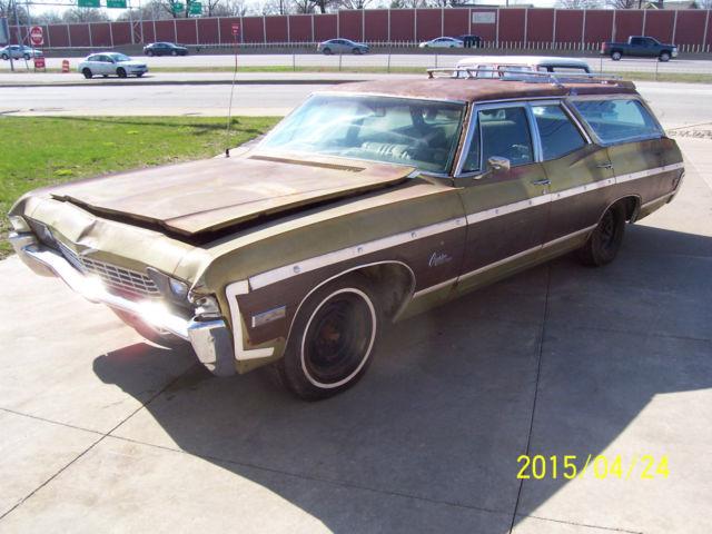 1968 Chevrolet Caprice Estate Wagon A/C Big Block 396