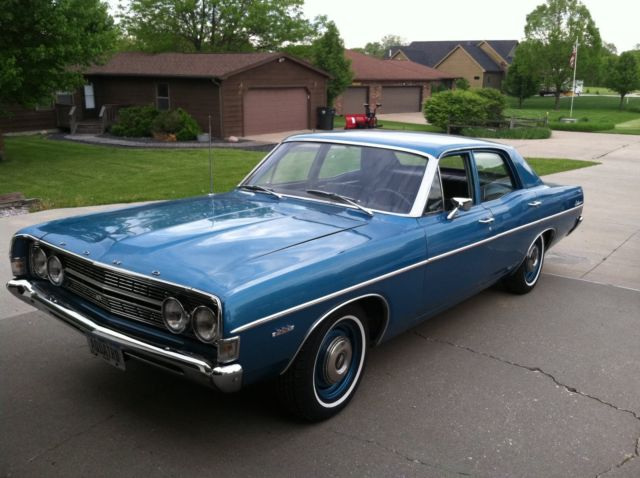1968 Ford Fairlane 500 not Torino or Ranchero not 1969