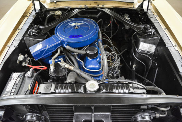 1968 Mustang 6 Cylinder Conversion To V8
