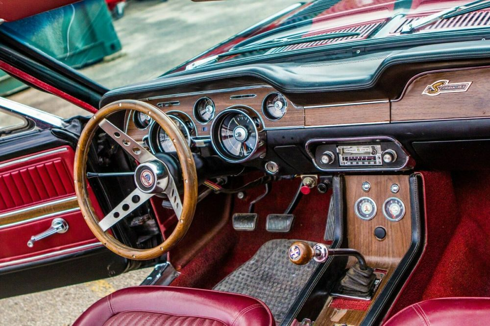 1968 Ford Mustang Shelby Cobra Gt500 Convertible Manual