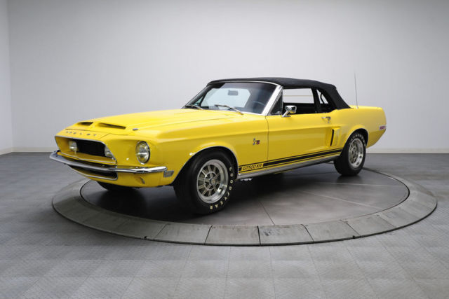 1968 Ford Shelby Mustang GT500KR 9719 Miles Bright Yellow ...