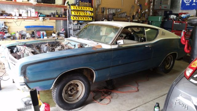 1968 Ford Torino GT Fastback 302 2-Door 1st Year find
