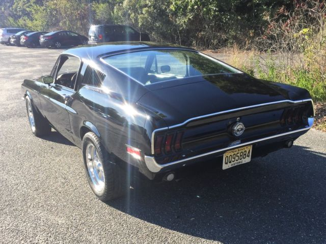 1968 MUSTANG FASTBACK FAST BACK FOLD DOWN NICE DRIVER C CODE