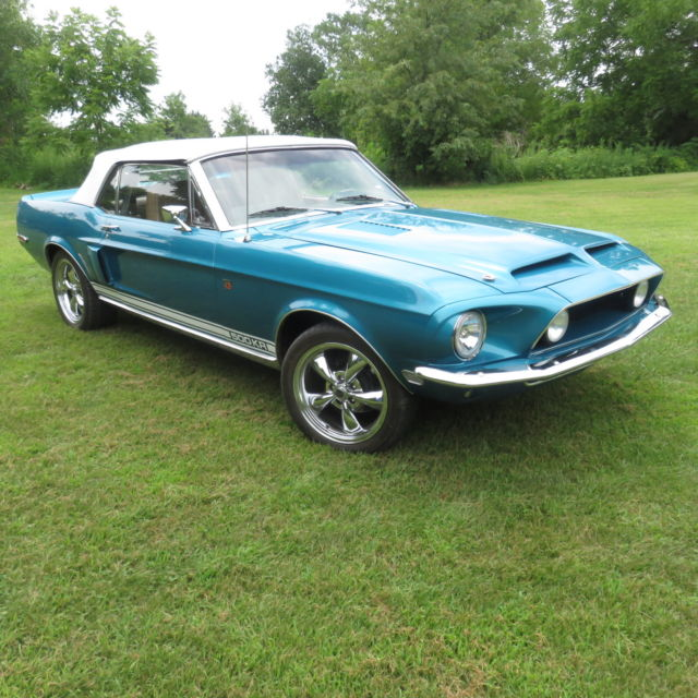 1968 Shelby Mustang GT500 KR Convertible Restomod ...