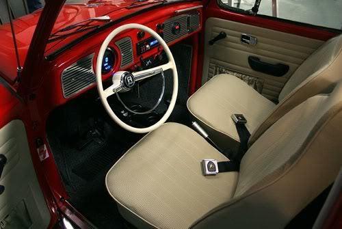 1968 Vw Beetle Rag-top  Frame-up Restoration