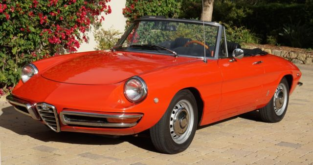 Alfa Romeo Duetto Round Tail Spider Classic Alfa Romeo - 1967 alfa romeo duetto spider for sale