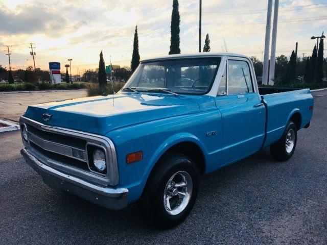 1969 Chevrolet C 10 Short Bed Frame Off Restoration 100 Miles