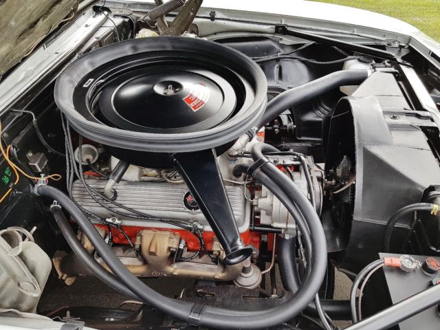 1969 Chevrolet Camaro Z28 Cortez Silver GM Canada Documented